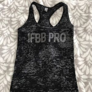 Tops - IFBB Pro rhinestone tank top